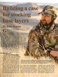 When you sell Scent-Lok BaseSlayers in camo, your customers can ...