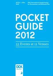 Pocket Guide 2012 - DOK Leipzig