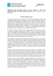 Borrador do proxecto de Decreto (7 marzo 2012 - Medio Rural ...