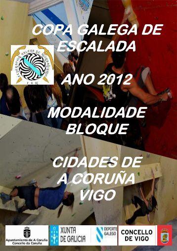resumo das competicións de bloque - Federación Galega de ...