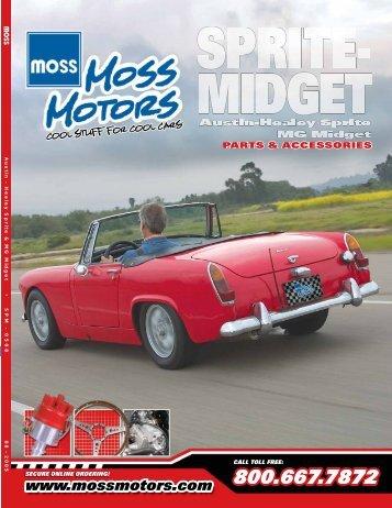 Austin - Healey Sprite & MG Midget • SPM - Loco Classic Car Parts