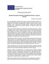 Bashkimi Evropian vazhdon të mbështesë - Ministria e Arsimit