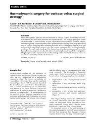 metoda de vintage de tratament varico