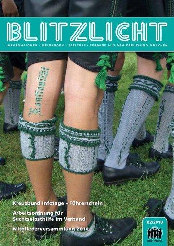 Blitzlicht-2010-02 - Kreuzbund Diözesanverband München und ...