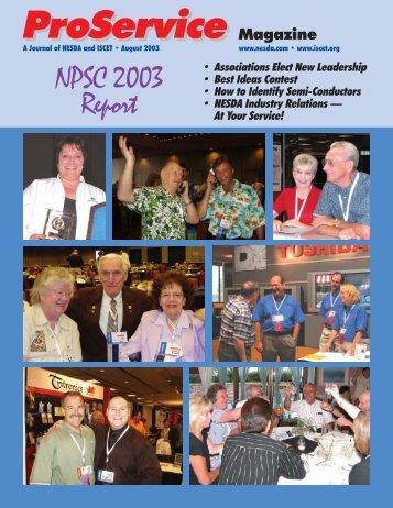ProService Magazine ProService - International Society of Certified ...