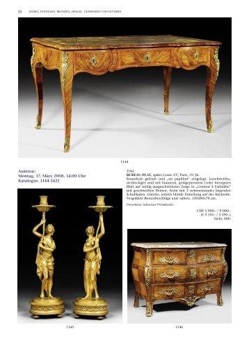 Auktion: Montag, 17. März 2008, 14.00 Uhr ... - Koller Auktionen