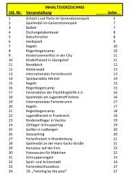 Kegeln - Stadt Lengerich