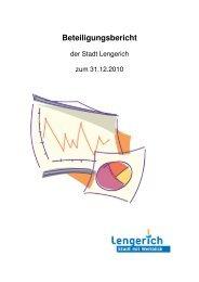 Download Beteiligungsbericht - Stadt Lengerich