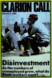 Clarion Call Volume 1 1985 - DISA