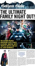 the action-packed adventure with stunts, illusions ... - Batman Live
