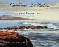 Paul Panossian - Cambridge Art Gallery