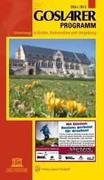 PROGRAMM - Herzlich willkommen auf unserer Homepage