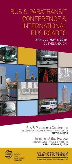 2010 Bus & Paratransit Conference Program - American Public ...