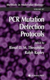 Pcr mutation detection protocols
