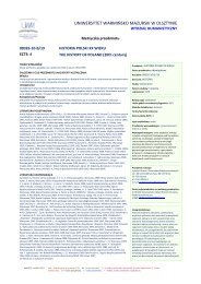 Acta Polono Ruthenica Xii 2007 Uniwersytet Warmińsko Mazurski