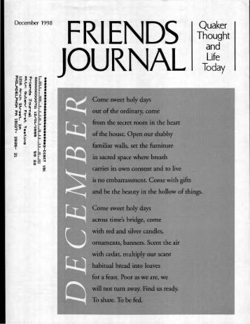 Dec-98 - Friends Journal