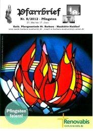für Fronleichnam - Pfarrei St. Barbara Maxhütte-Haidhof