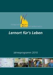 Lernort für's Leben - Regionales Bildungsnetzwerk Kreis Steinfurt