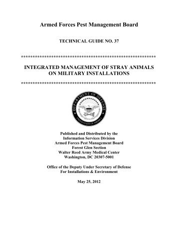 Technical guide 20 armed forces pest management board tg 37 armed forces pest management board sciox Choice Image