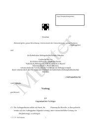 Vertrag - Katholische Stiftungsfachhochschule (KSFH)