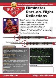 Trident 180 Dart Point Cones - Horizon Darts