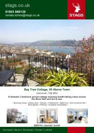 rentals.totnes@stags.co.uk Bay Tree Cottage, 55 Above Town - Vebra