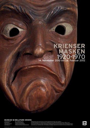 KRIENSER MASKEN 1920-1970 - Museum im Bellpark