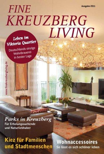 Ausgabe 2011 FINE – KREUZBERG LIVING - Viktoria Quartier