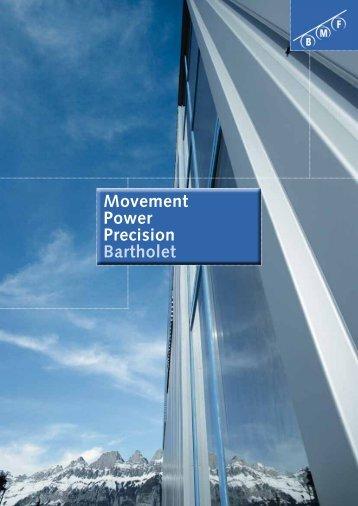 Movement Power Precision Bartholet