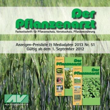 Mai 2013 - Der Pflanzenarzt