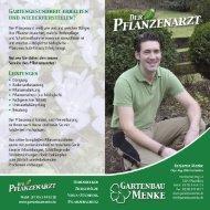 Der Pflanzenarzt - Gartenbau Menke