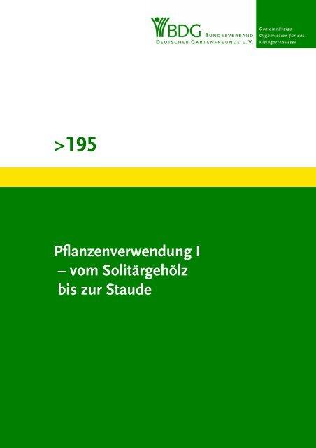 195 - Bundesverband Deutscher Gartenfreunde e. V.