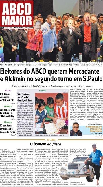 01/10/2010 Ano 05 - Nº 250 - ABCD Maior