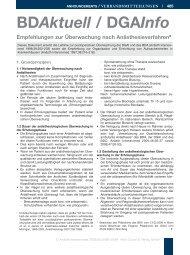 Empfehlung zur Überwachung nach Anästhesieverfahren ... - DGAI
