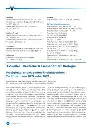 BPS -Magazin 01/10 - Urologenportal