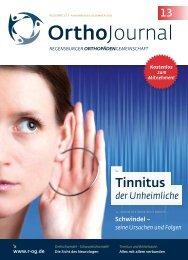 Tinnitus - Regensburger OrthopädenGemeinschaft