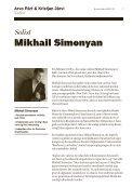Mikhail Simonyan, violin - DR - Page 7