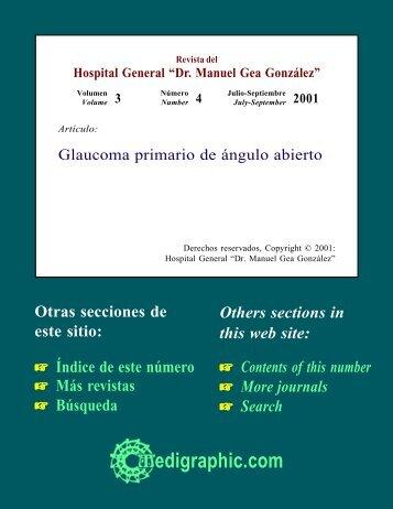 Glaucoma primario de ángulo abierto - edigraphic.com