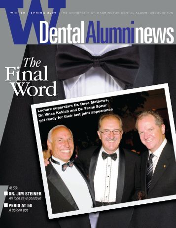 n DR. JIM STEINER n PERIO AT 50 - University of Washington ...