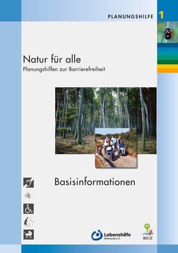 Natur für alle Basisinformationen - RUZ Schortens