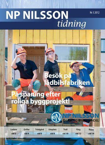Besök på lådbilsfabriken - NP Nilsson