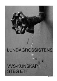 Utbildningskompendium VVS steg 1.p65 - Lundagrossisten