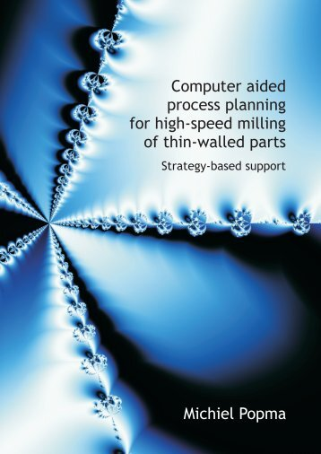 Computer aided process planning for high-speed milling of thin ...