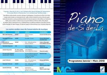 Affiche Piano dsdl:4 pages A5 - Communauté d'agglomération ...
