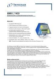 Produktinfo (136 kB) - FTL Tritschler Elektronik+Feingerätebau