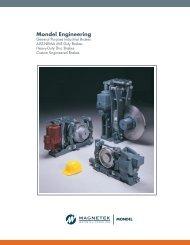 Custom engineered brakes available - Magnetek Material Handling