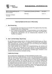 Beratungsunterlage Ausschuss für Umwelt und Verkehr vom 24.04