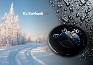 WINTERCHECK - Garage Burkhardt AG