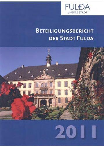 Beteiligungsbericht 2011 - in Fulda