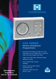 Horstmann_Controls_Brochure - Plumb Center online
